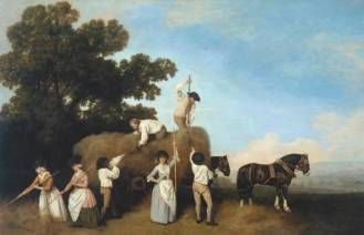 Haymakers, 1785 by George Stubbs
